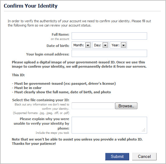 confirm-your-identity